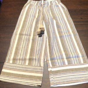 Harmony & Havoc striped pants. Super cute ! New.